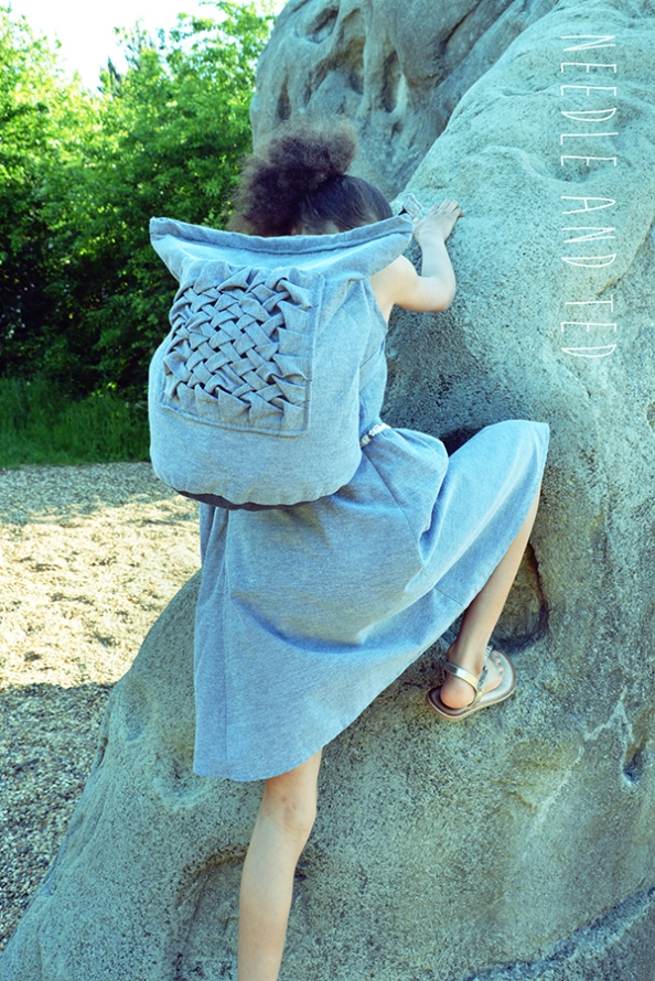 Stonehenge dress and backpack_1